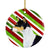 Basenji Candy Cane Holiday Christmas Ceramic Ornament SS4583 by Caroline's Treasures