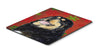 Buy this Tibetan Mastiff Snowflakes Holiday Christmas Mouse Pad, Hot Pad or Trivet