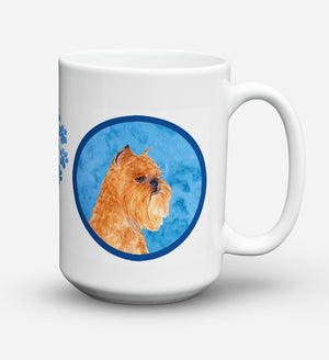 Buy this Brussels Griffon Dishwasher Safe Microwavable Ceramic Coffee Mug 15 ounce SS4770