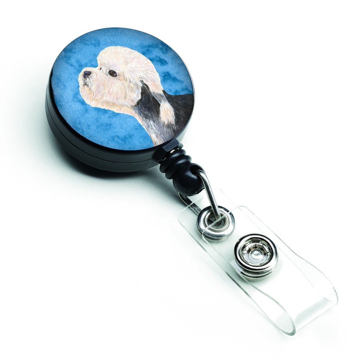 Buy this Dandie Dinmont Terrier  Retractable Badge Reel or ID Holder with Clip SS4779