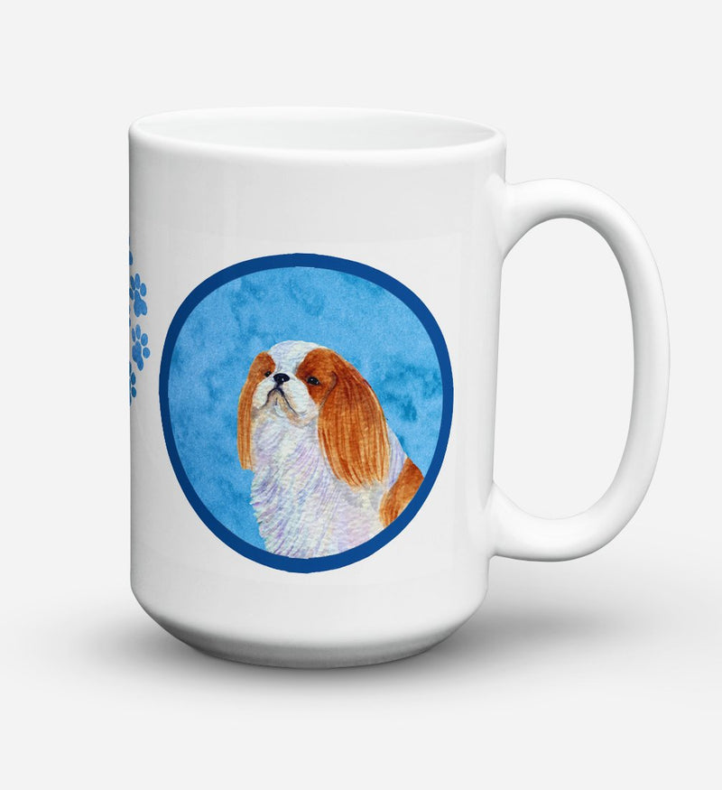 Buy this English Toy Spaniel Dishwasher Safe Microwavable Ceramic Coffee Mug 15 ounce SS4783