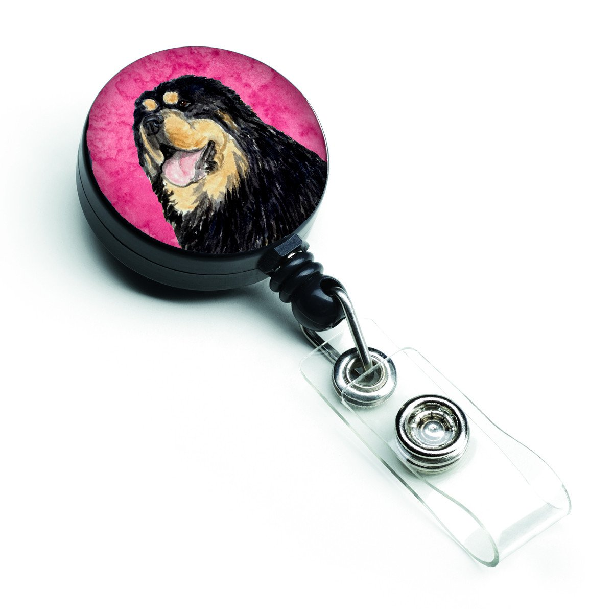 Tibetan Mastiff  Retractable Badge Reel or ID Holder with Clip SS4788 by Caroline's Treasures