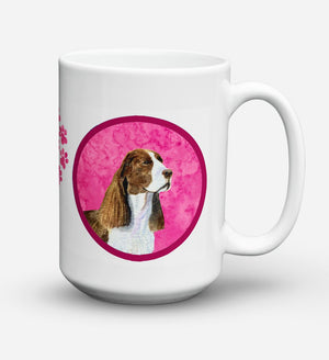 Buy this Springer Spaniel Dishwasher Safe Microwavable Ceramic Coffee Mug 15 ounce SS4789