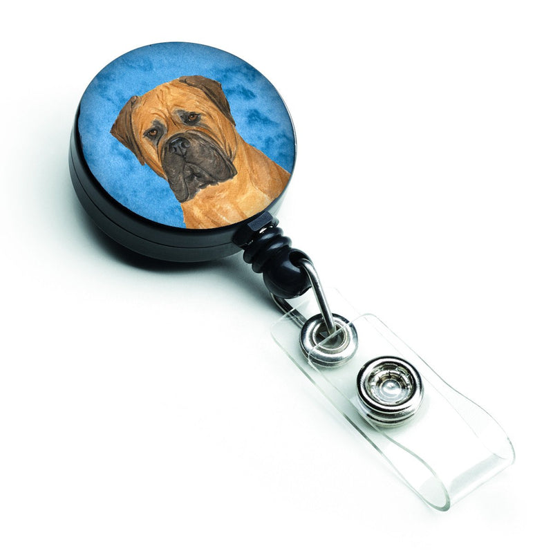 Bullmastiff  Retractable Badge Reel or ID Holder with Clip SS4793 by Caroline's Treasures