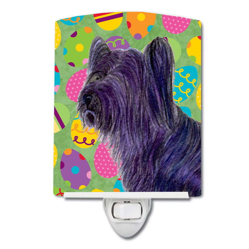 Buy this Skye Terrier Easter Eggtravaganza Ceramic Night Light SS4808CNL