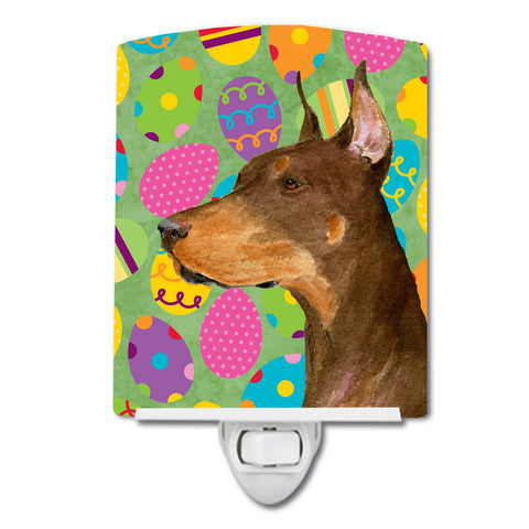 Buy this Doberman Easter Eggtravaganza Ceramic Night Light SS4813CNL