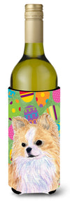 Chihuahua Easter Eggtravaganza Wine Bottle Beverage Insulator Beverage Insulator Hugger SS4818LITERK - the-store.com