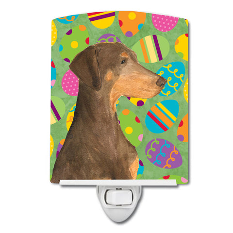 Buy this Doberman Easter Eggtravaganza Ceramic Night Light SS4824CNL