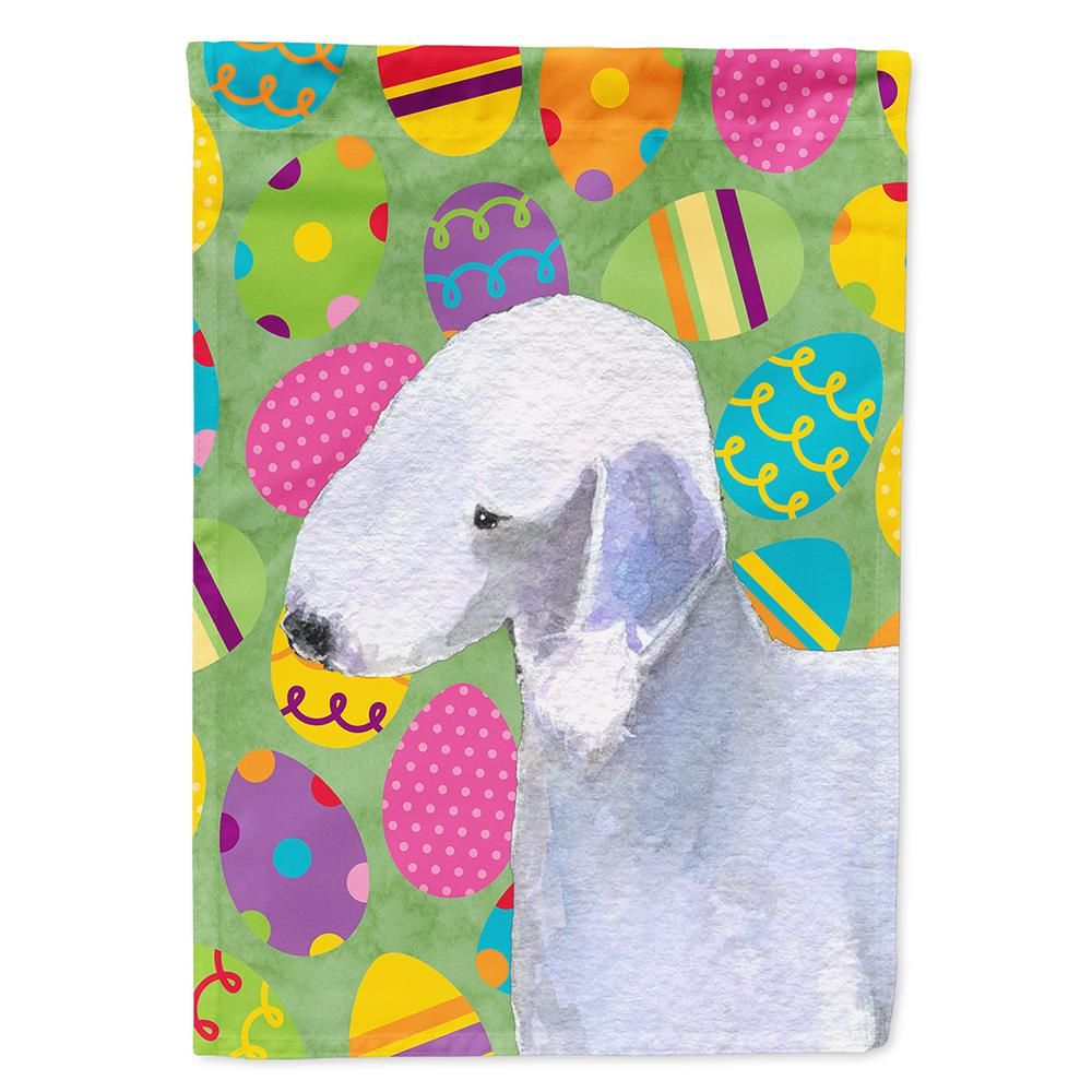 Buy this Bedlington Terrier Easter Eggtravaganza Flag Garden Size