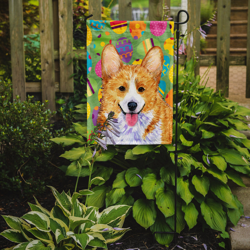 Buy this Corgi Easter Eggtravaganza Flag Garden Size
