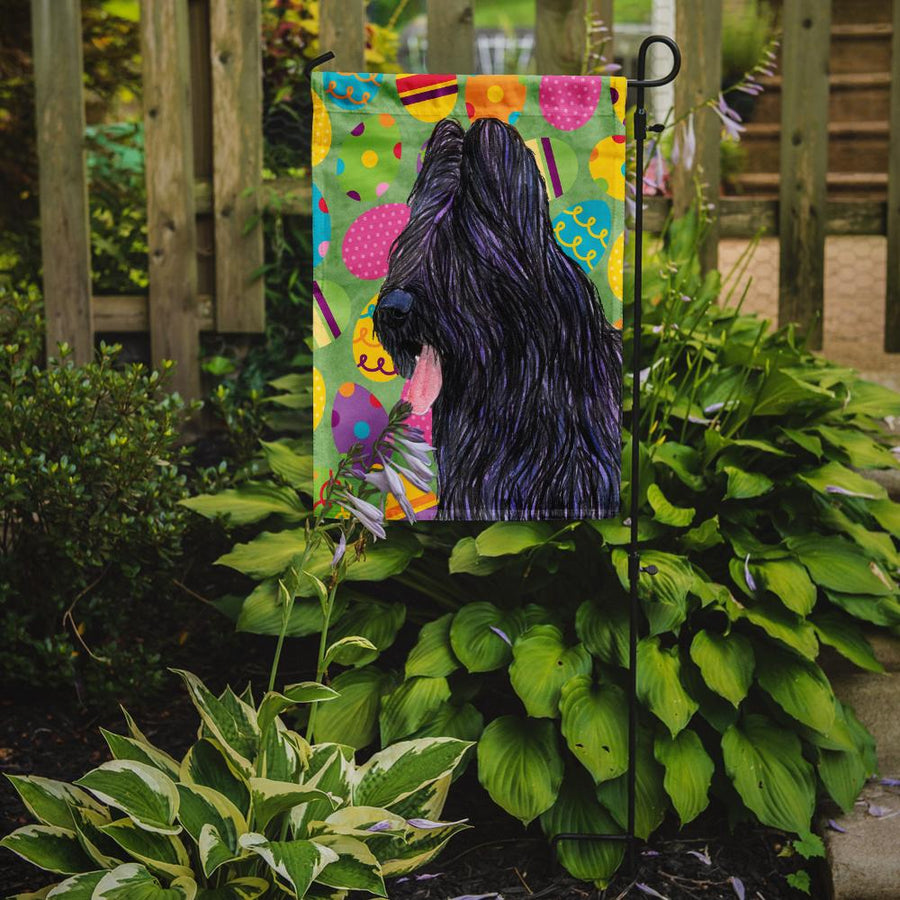 Buy this Briard Easter Eggtravaganza Flag Garden Size