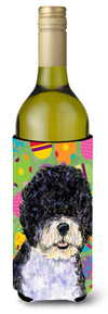 Portuguese Water Dog Easter Eggtravaganza Wine Bottle Beverage Insulator Beverage Insulator Hugger by Caroline's Treasures