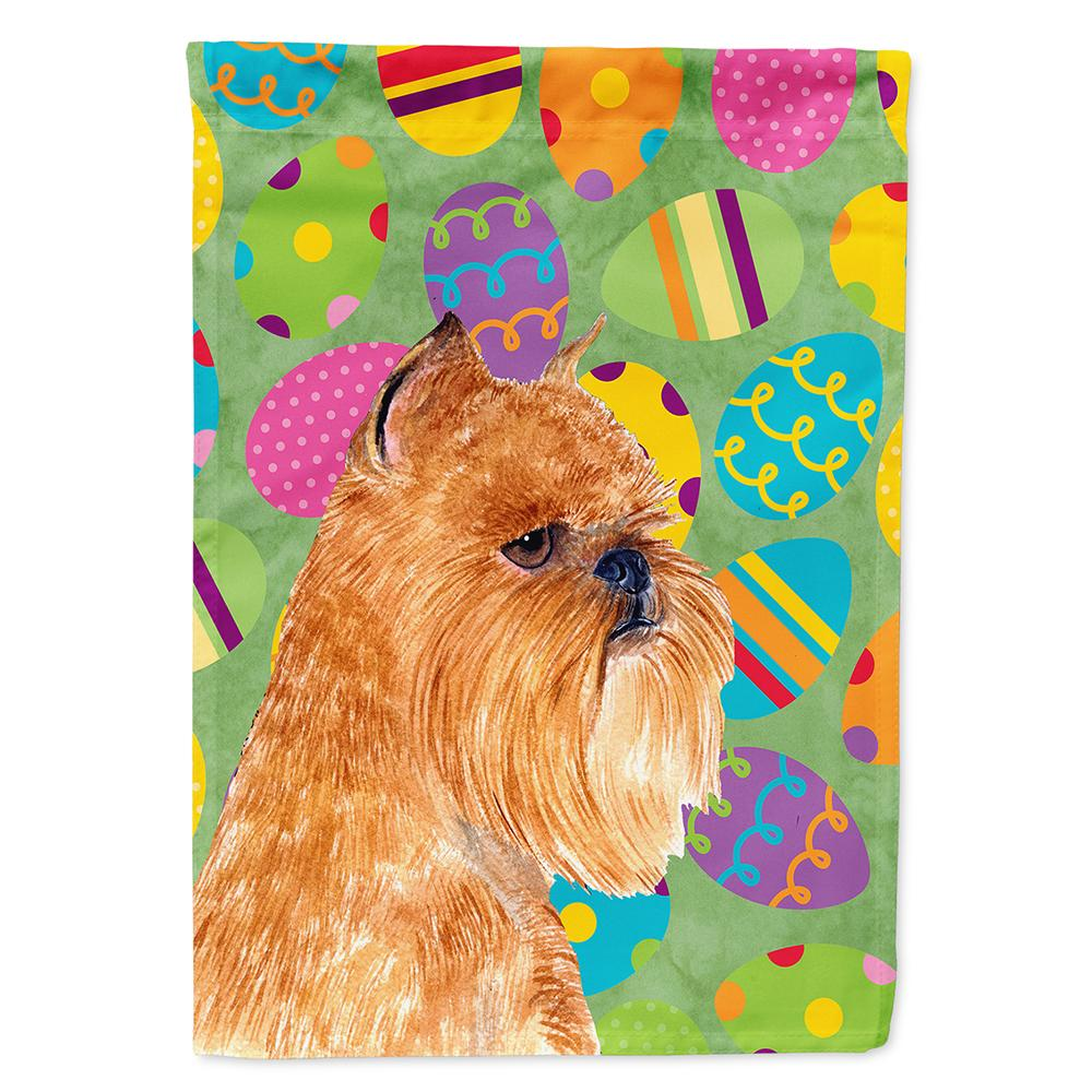 Buy this Brussels Griffon Easter Eggtravaganza Flag Garden Size