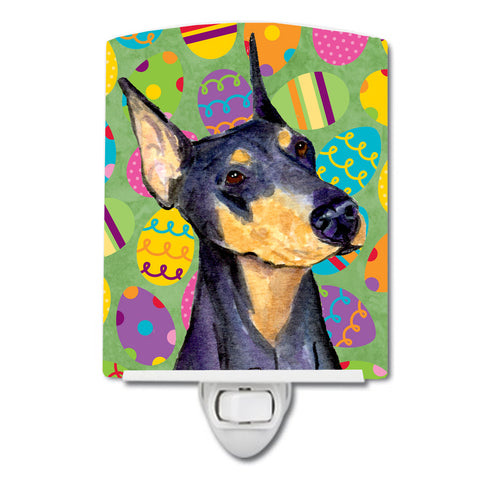 Buy this Doberman Easter Eggtravaganza Ceramic Night Light SS4840CNL