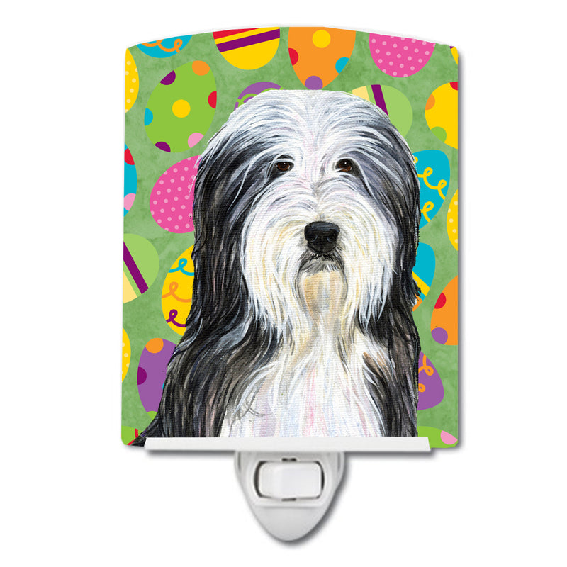 Buy this Bearded Collie Easter Eggtravaganza Ceramic Night Light SS4842CNL