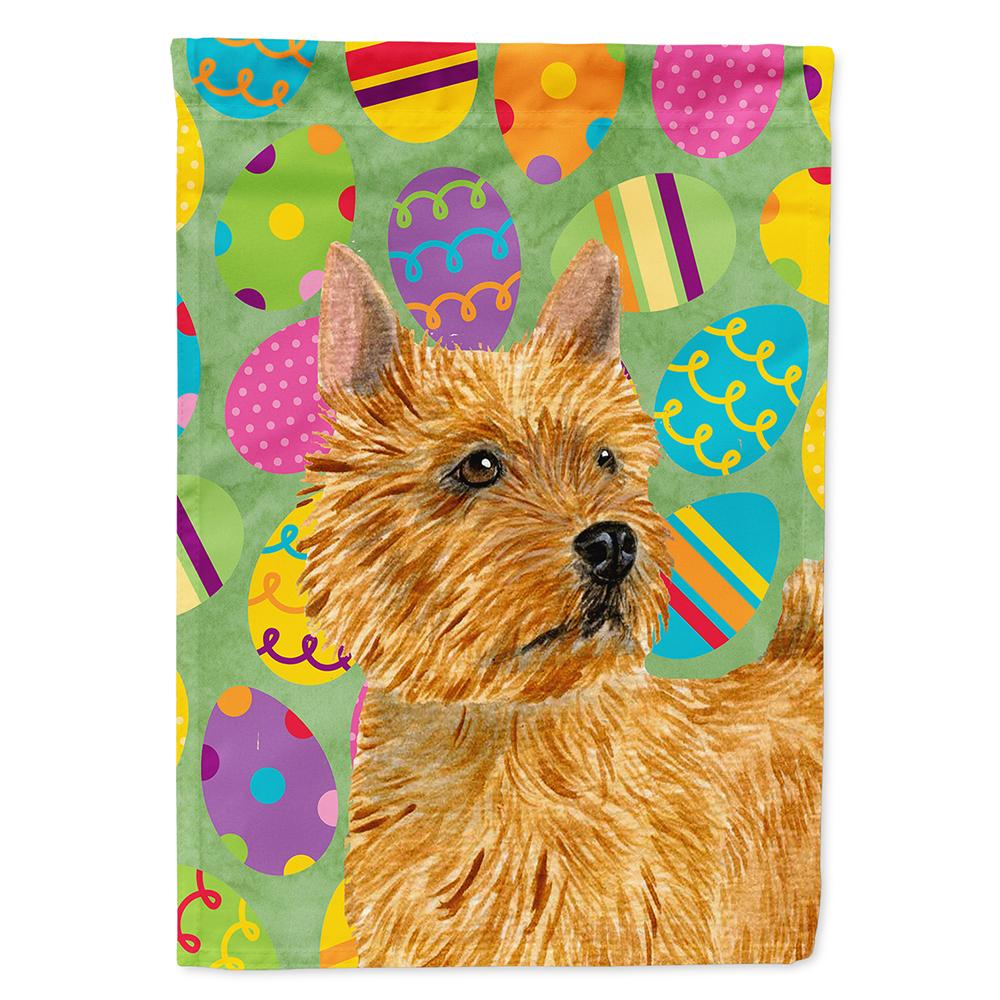 Buy this Norwich Terrier Easter Eggtravaganza Flag Garden Size