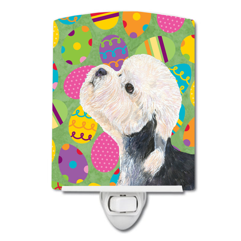 Buy this Dandie Dinmont Terrier Easter Eggtravaganza Ceramic Night Light SS4848CNL