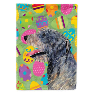 Buy this Irish Wolfhound Easter Eggtravaganza Flag Garden Size