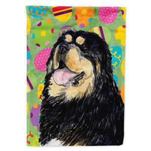 Buy this Tibetan Mastiff Easter Eggtravaganza Flag Garden Size