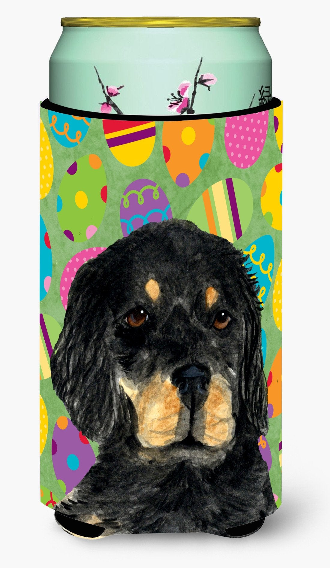 Gordon Setter Easter Eggtravaganza  Tall Boy Beverage Insulator Beverage Insulator Hugger by Caroline's Treasures