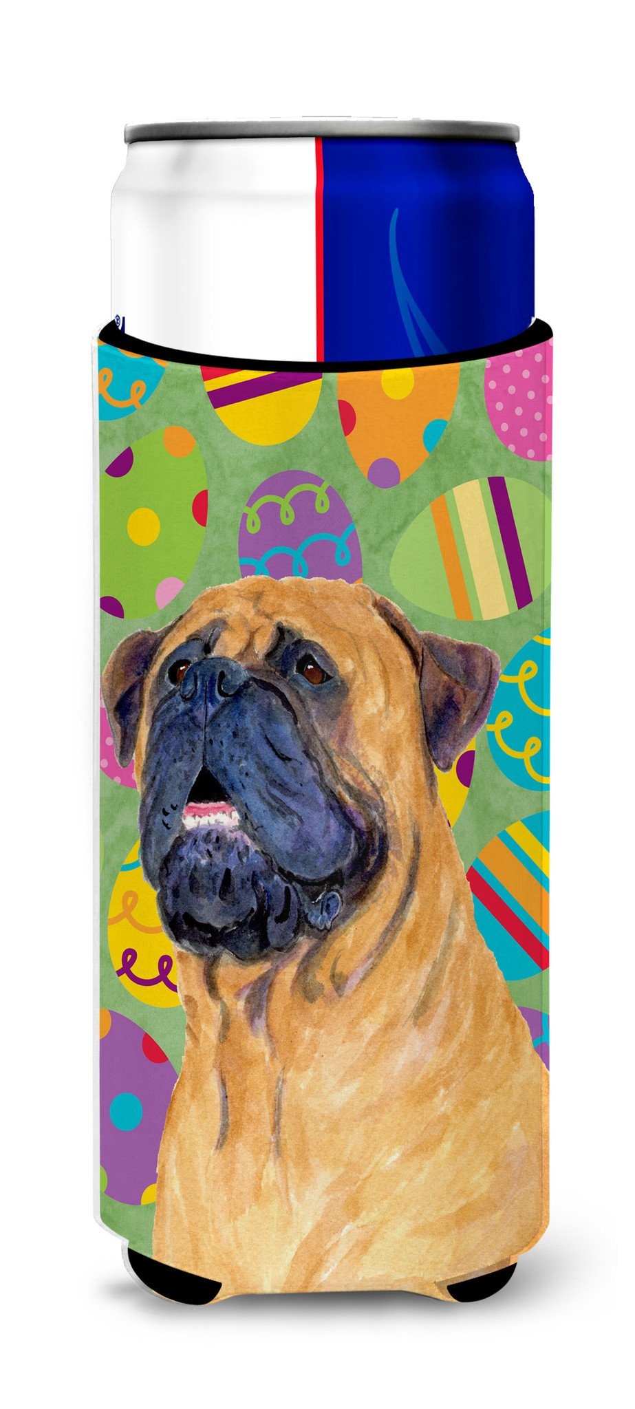 Mastiff Easter Eggtravaganza Ultra Beverage Insulators for slim cans SS4865MUK by Caroline's Treasures