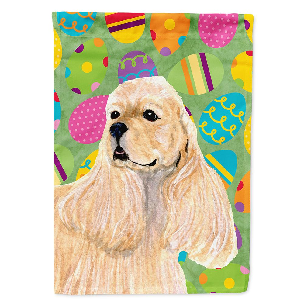 Buy this Cocker Spaniel Easter Eggtravaganza Flag Garden Size