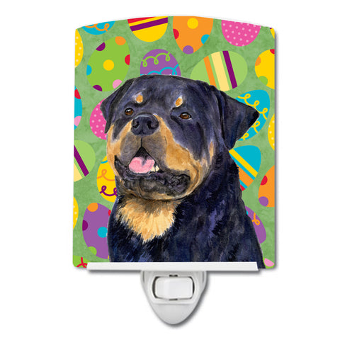 Buy this Rottweiler Easter Eggtravaganza Ceramic Night Light SS4869CNL