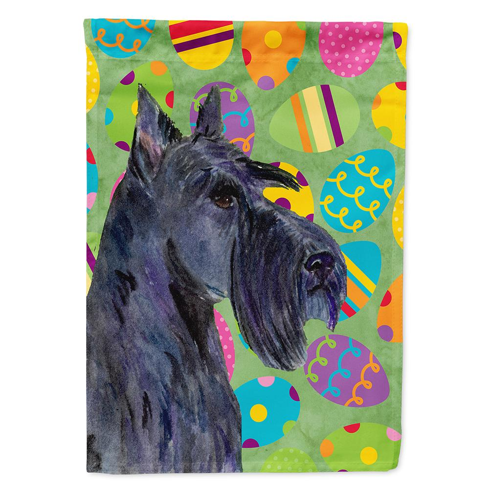 Buy this Scottish Terrier Easter Eggtravaganza Flag Garden Size