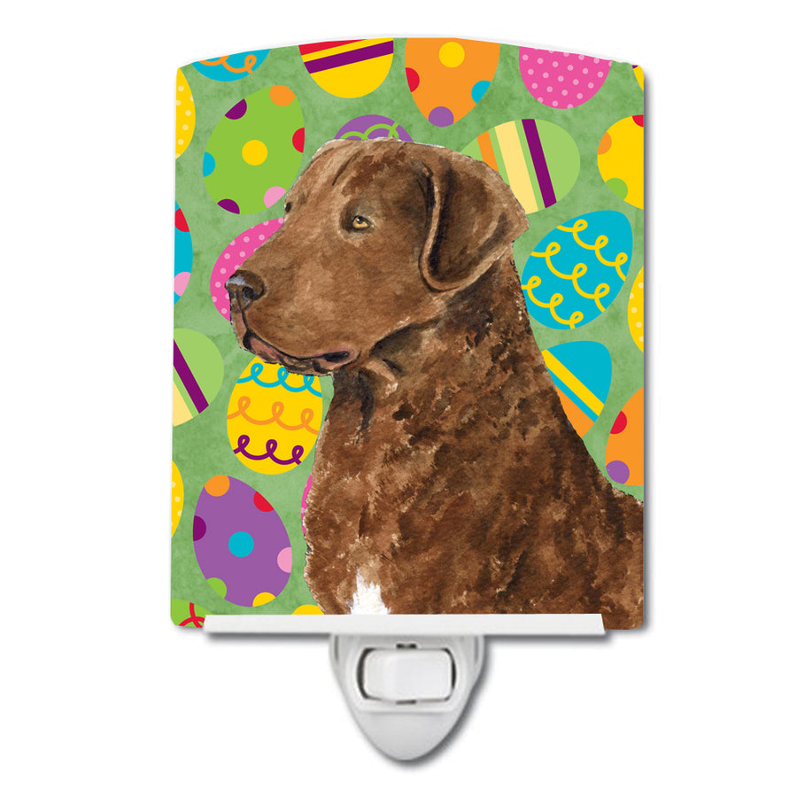 Buy this Chesapeake Bay Retriever Easter Eggtravaganza Ceramic Night Light SS4876CNL