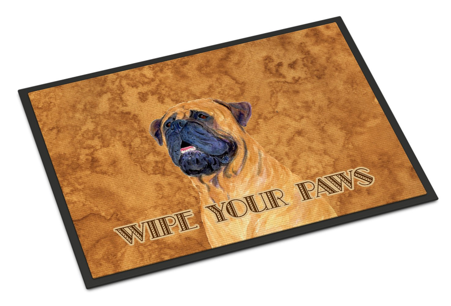 Mastiff Wipe your Paws Indoor or Outdoor Mat 18x27 SS4881MAT - the-store.com