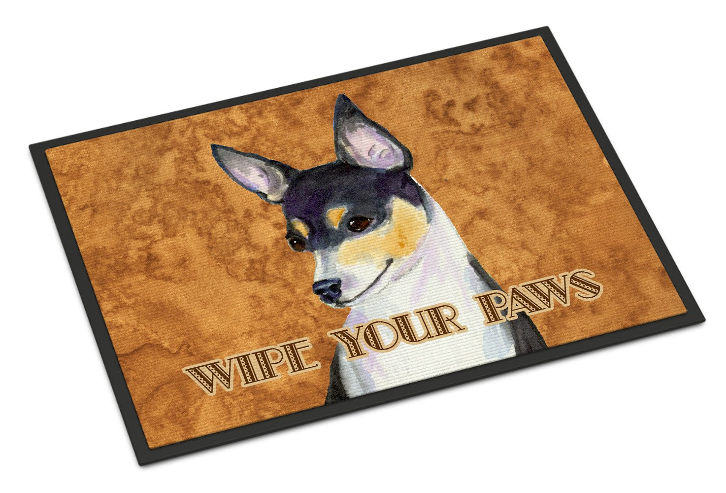 Toy Fox Terrier Wipe your Paws Indoor or Outdoor Mat 18x27 SS4882MAT - the-store.com