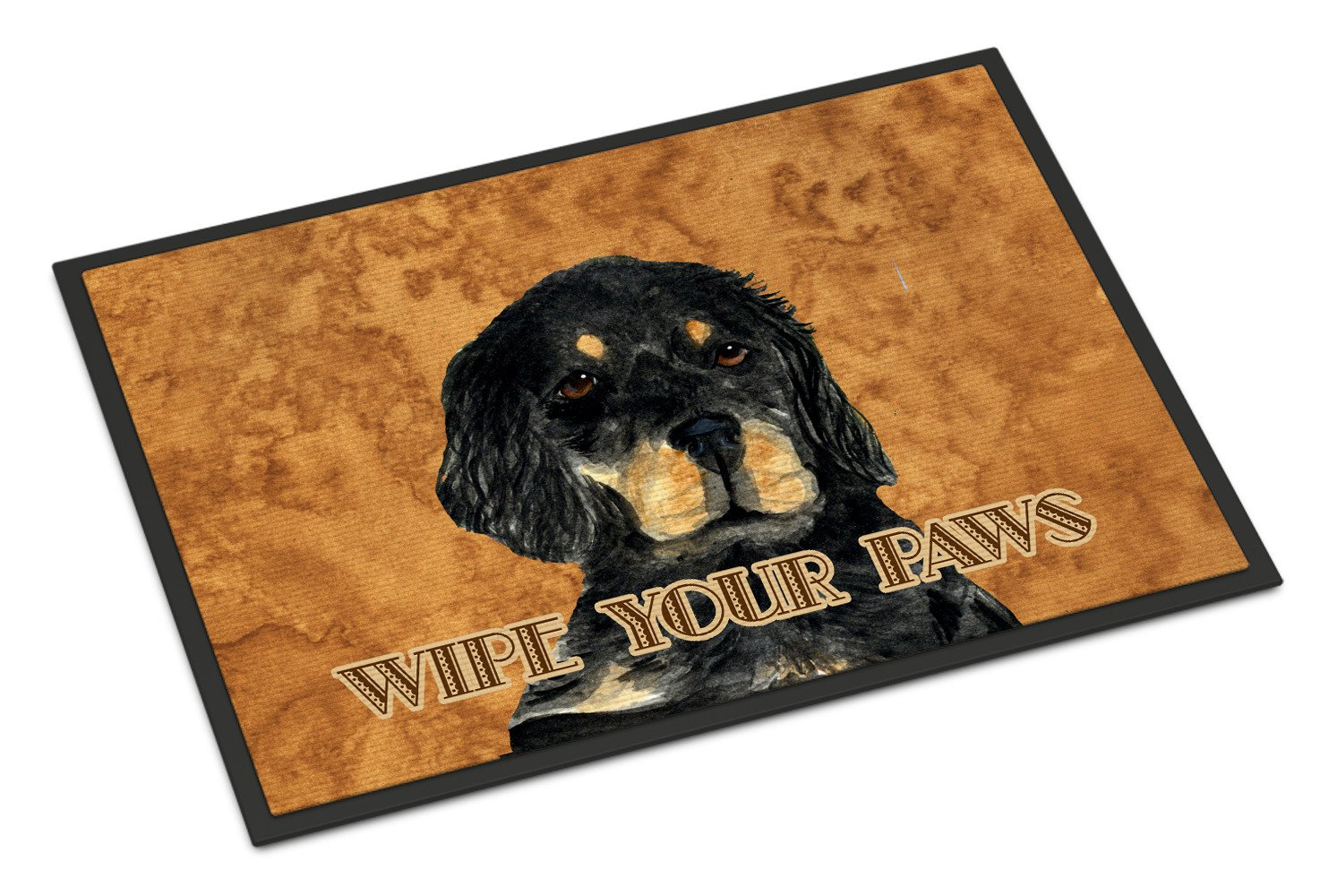 Gordon Setter Wipe your Paws Indoor or Outdoor Mat 18x27 SS4885MAT - the-store.com