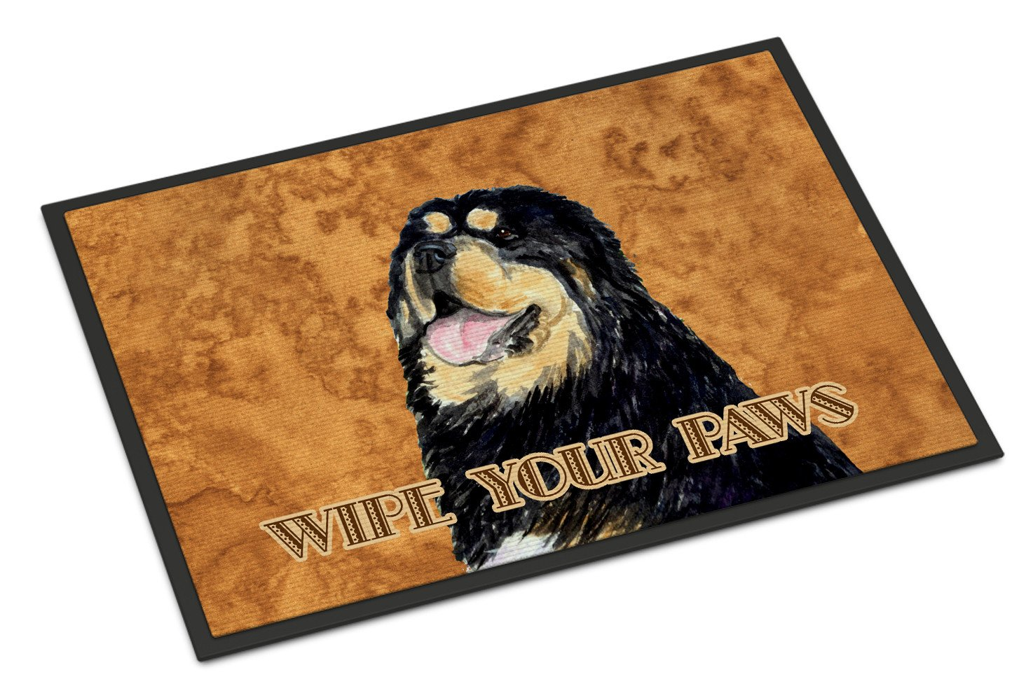 Tibetan Spaniel Wipe your Paws Indoor or Outdoor Mat 18x27 SS4886MAT - the-store.com