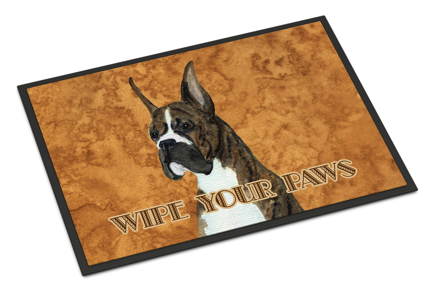 Brindle Boxer Wipe your Paws Indoor or Outdoor Mat 18x27 SS4888MAT - the-store.com