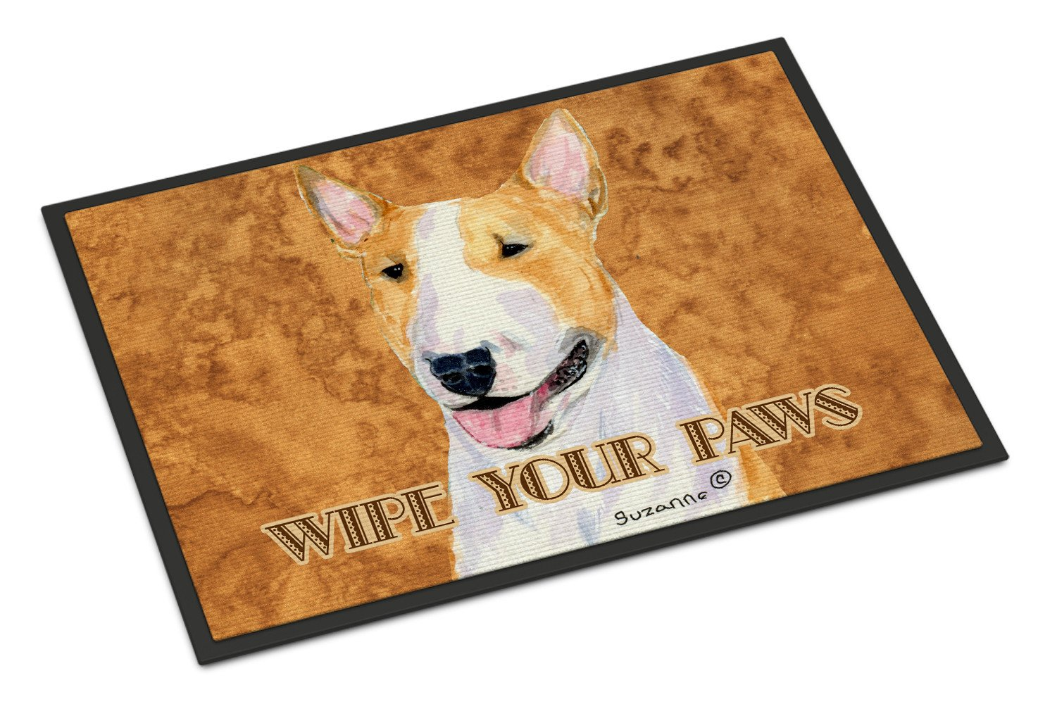 Bull Terrier Wipe your Paws Indoor or Outdoor Mat 18x27 SS4890MAT - the-store.com