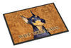 Black and Tan Doberman Wipe your Paws Indoor or Outdoor Mat 24x36 SS4891JMAT - the-store.com