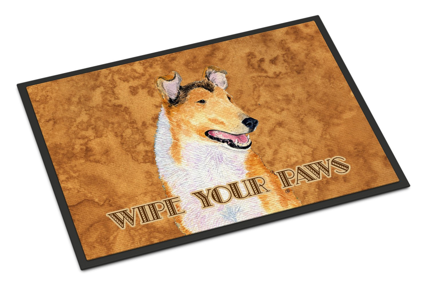 Collie Smooth Wipe your Paws Indoor or Outdoor Mat 18x27 SS4903MAT - the-store.com