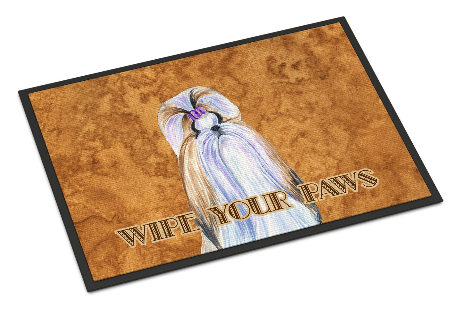 Shih Tzu Wipe your Paws Indoor or Outdoor Mat 18x27 SS4904MAT - the-store.com
