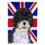 Buy this Portuguese Water Dog with English Union Jack British Flag Flag Garden Size