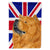 Buy this Chow Chow with English Union Jack British Flag Flag Garden Size