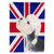 Buy this Dandie Dinmont Terrier with English Union Jack British Flag Flag Garden Size