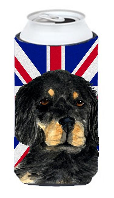 Gordon Setter with English Union Jack British Flag Tall Boy Beverage Insulator Hugger SS4957TBC by Caroline's Treasures