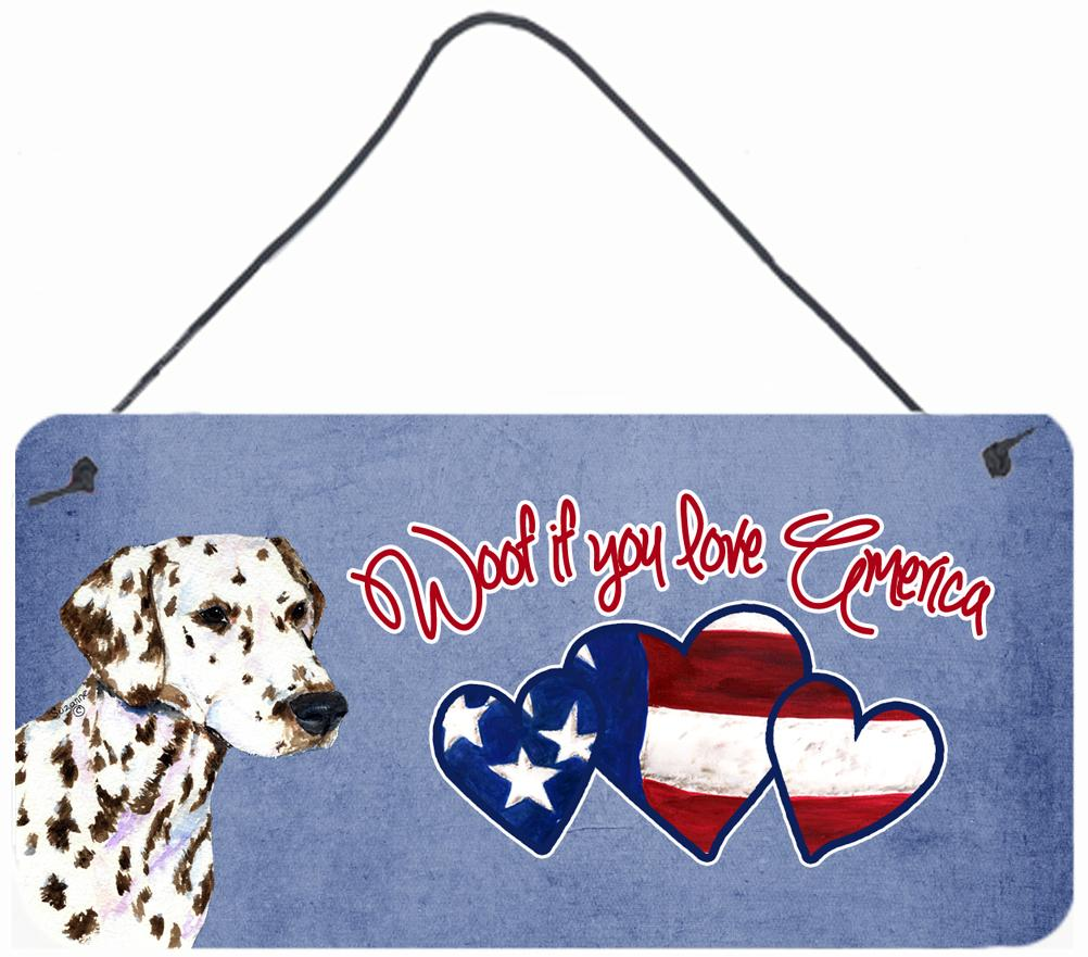 Buy this Woof if you love America Dalmatian Wall or Door Hanging Prints SS4981DS612