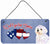 Buy this Woof if you love America Maltese Wall or Door Hanging Prints SS4993DS612