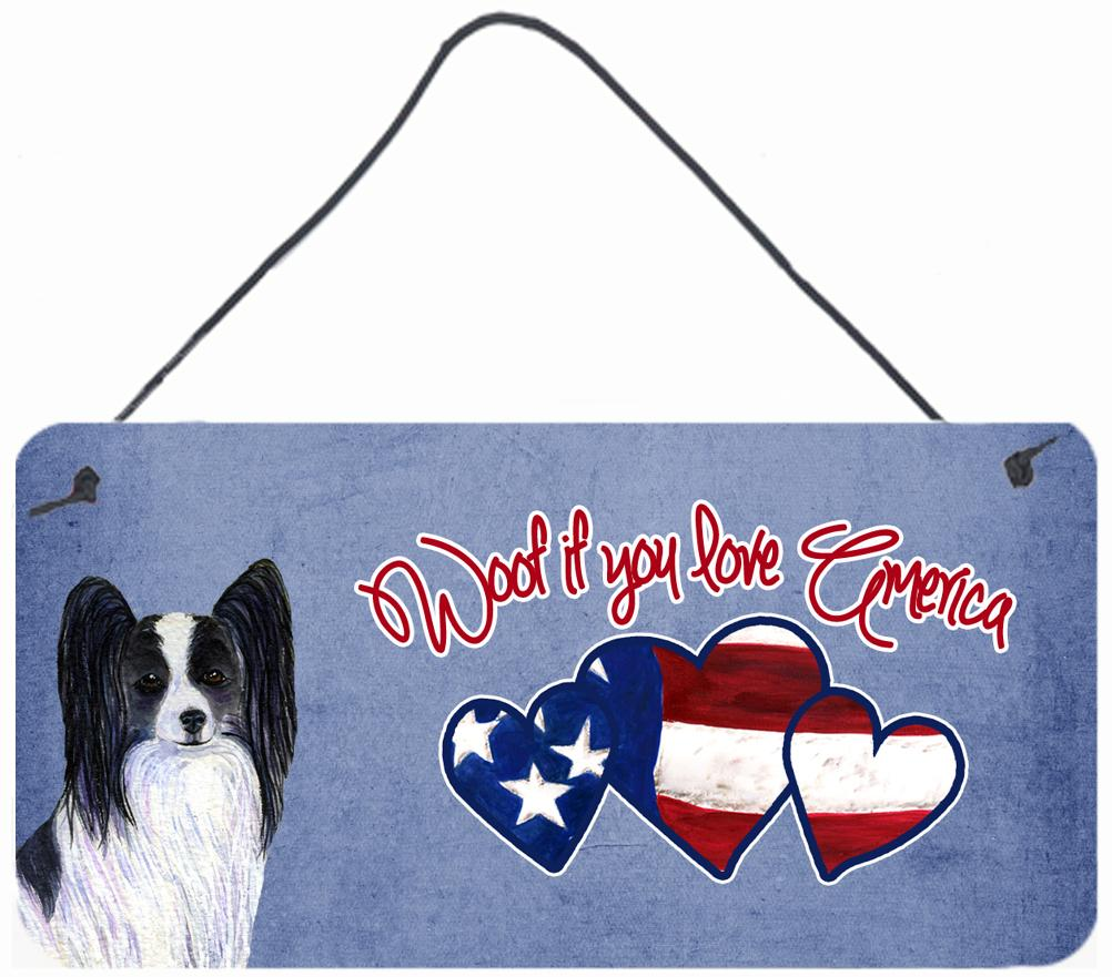 Buy this Woof if you love America Papillon Wall or Door Hanging Prints SS5016DS612