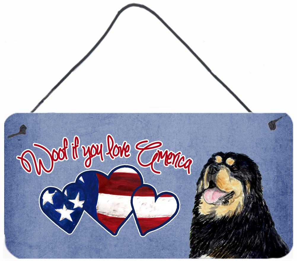 Buy this Woof if you love America Tibetan Terrier Wall or Door Hanging Prints SS5023DS612