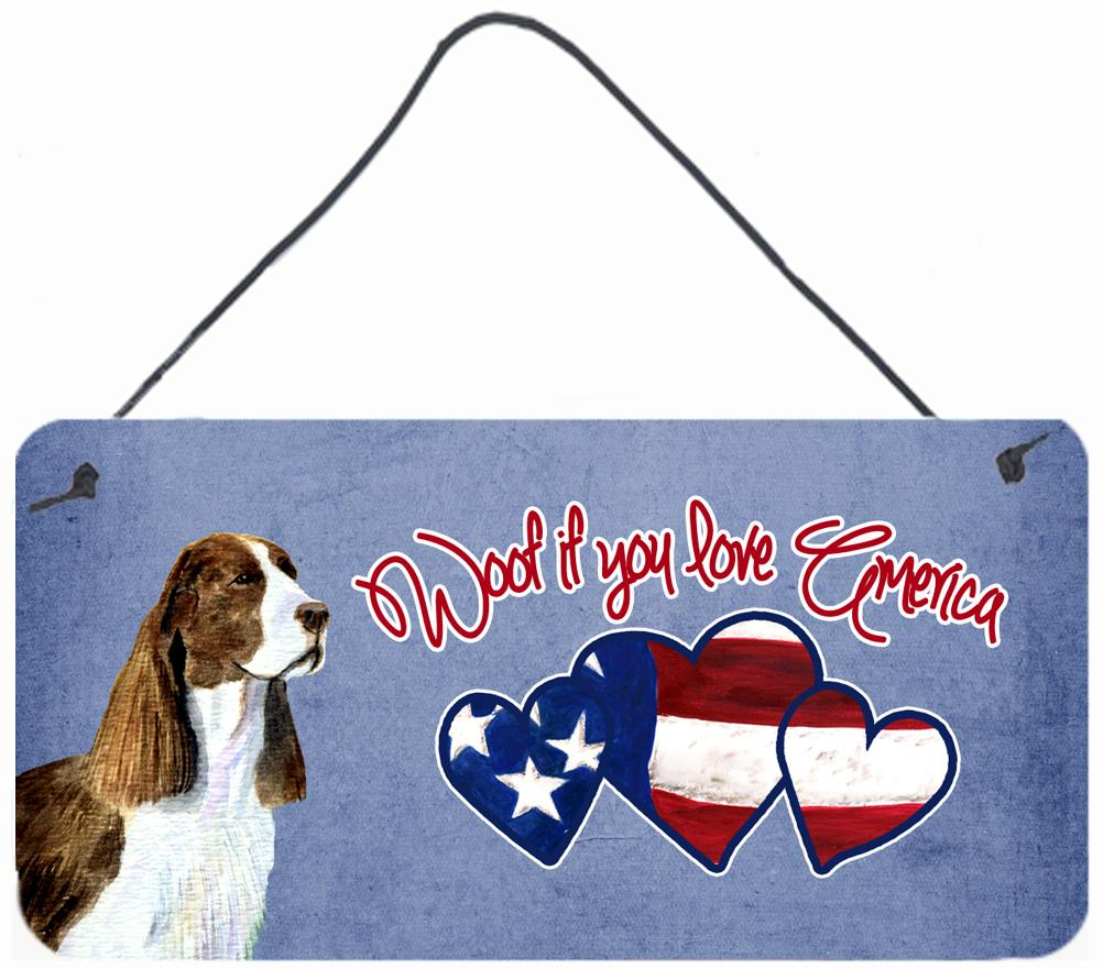 Buy this Woof if you love America Springer Spaniel Wall or Door Hanging Prints
