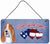 Buy this Woof if you love America Basset Hound Wall or Door Hanging Prints SS5040DS612