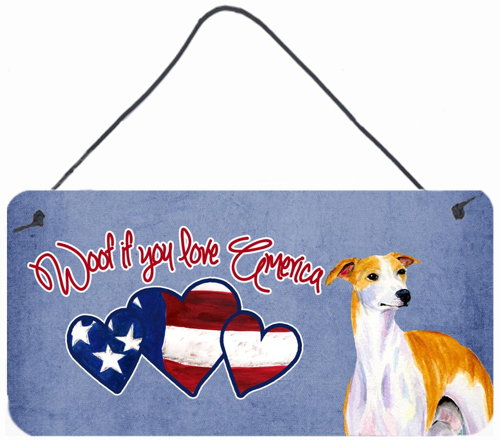 Buy this Woof if you love America Whippet Wall or Door Hanging Prints SS5045DS612