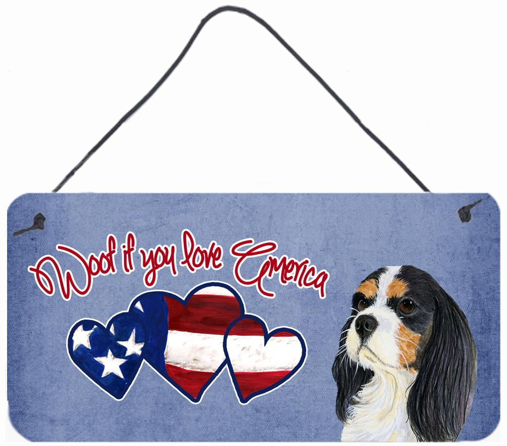 Buy this Woof if you love America Cavalier Spaniel Wall or Door Hanging Prints